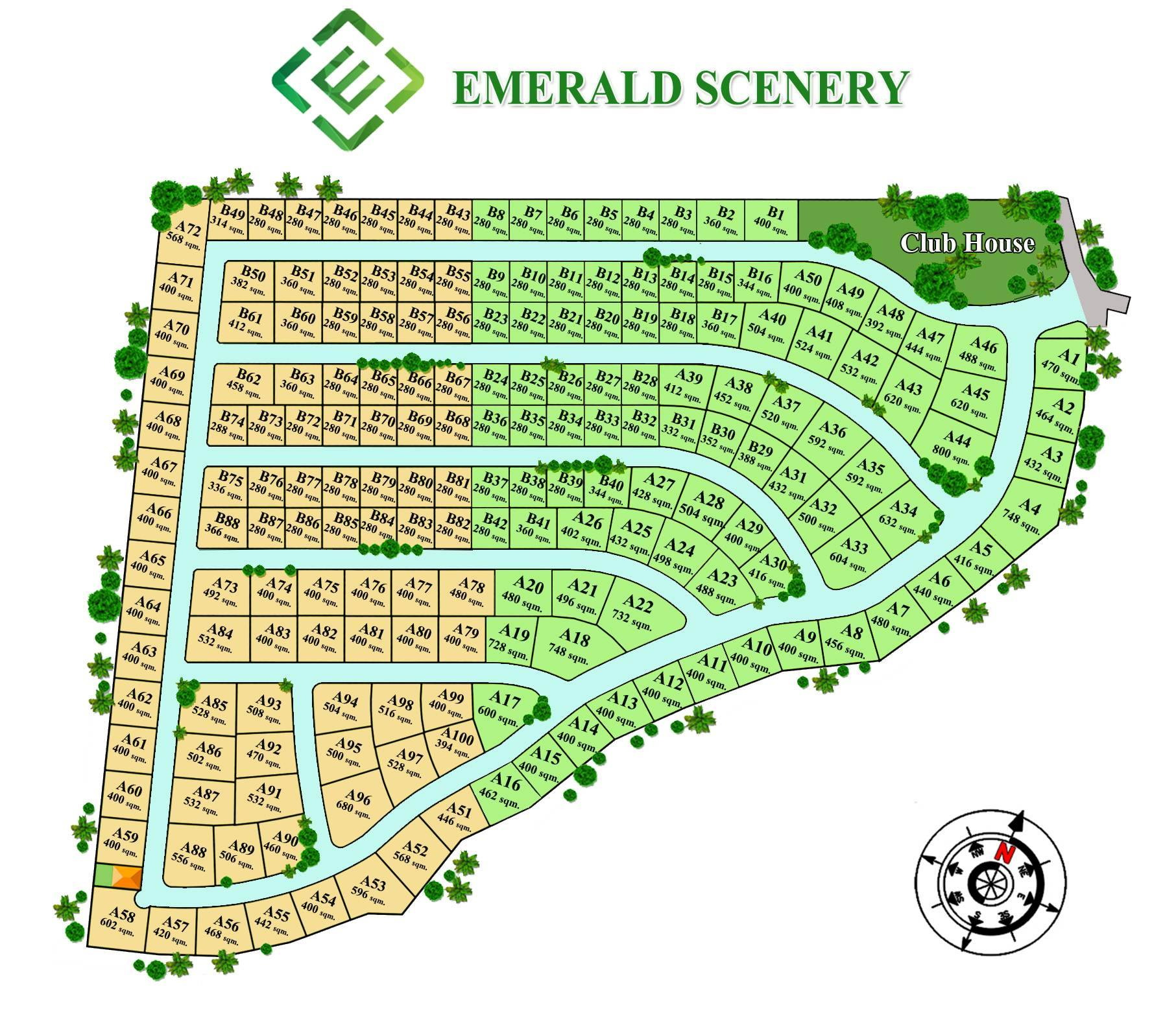 Emerald scenery rosse immobilien for Haus musterplan