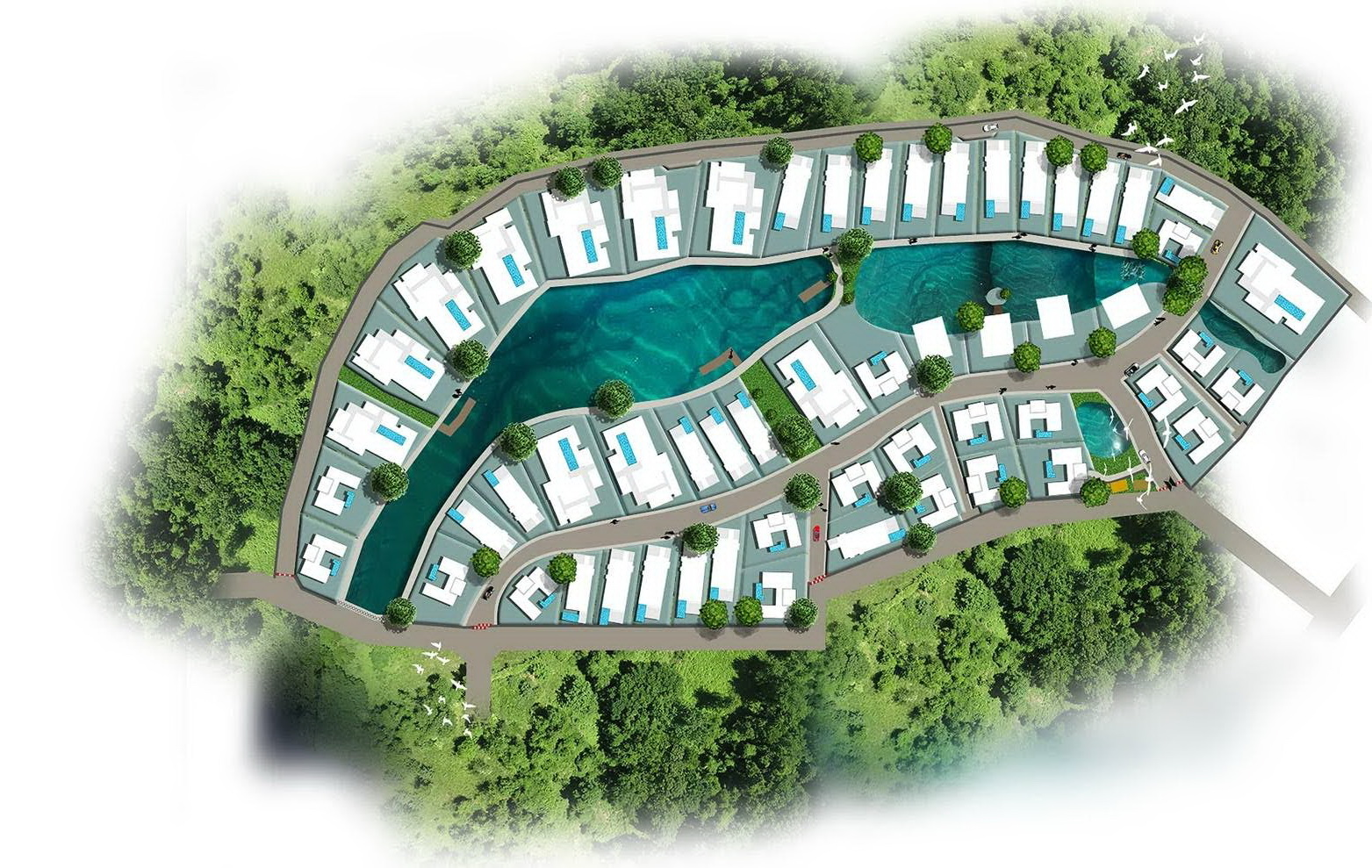 Sanctuary lakes rosse immobilien for Haus musterplan