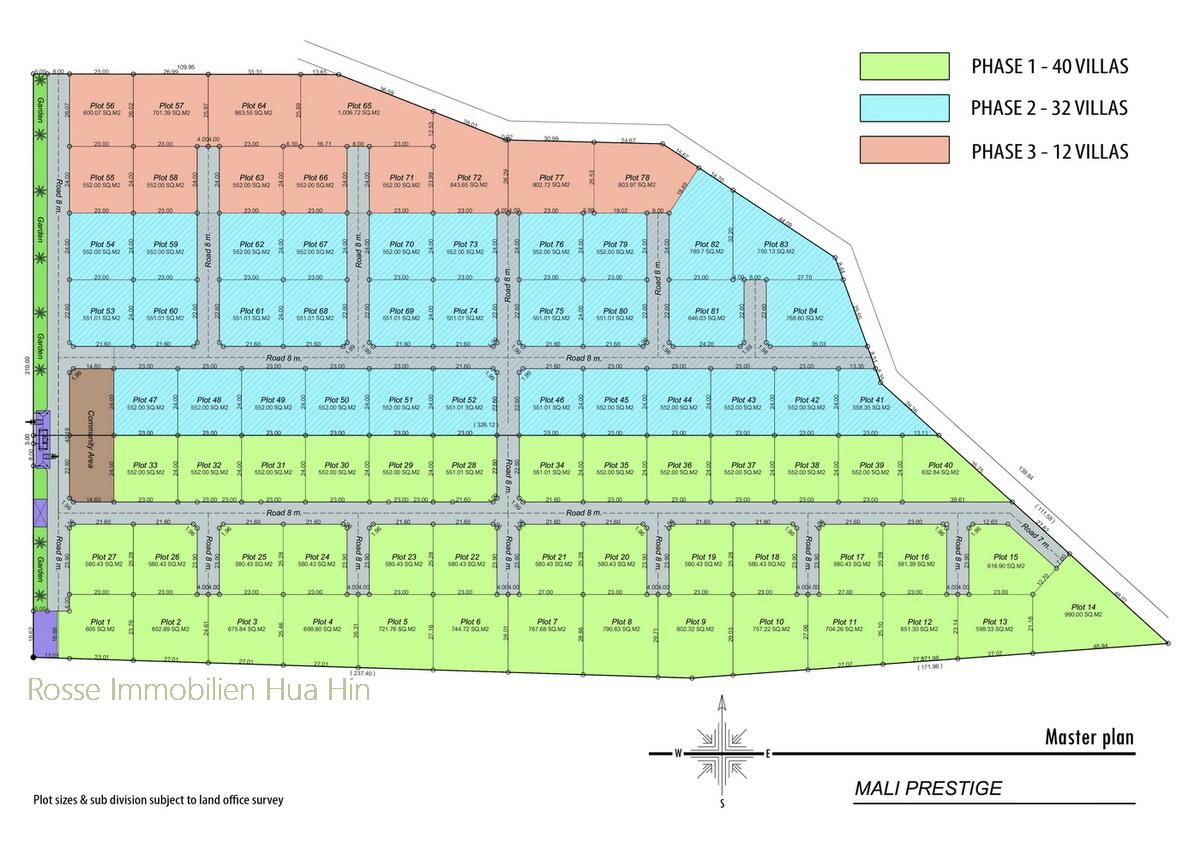 Mali prestige rosse immobilien for Haus musterplan