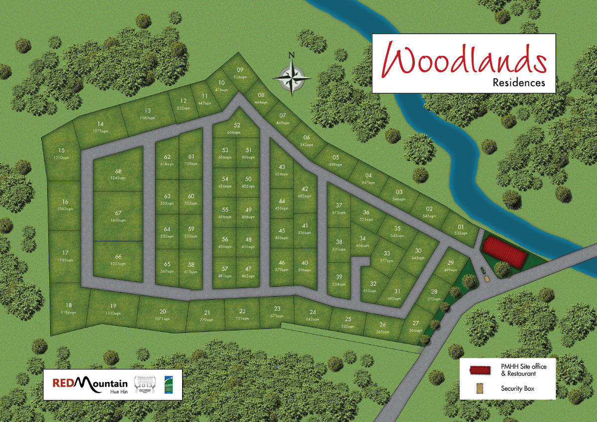 Woodlands residences rosse immobilien for Haus musterplan